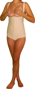 a8f13901011f2 Abdomen Contouring Girdle with Suspenders (Panty)