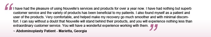 Compression garment testimonial
